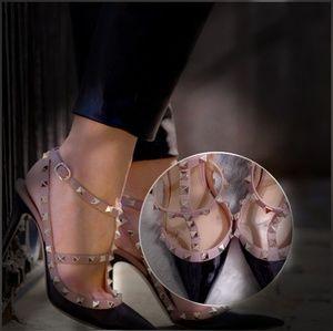 Valentino studded stilettos shoes